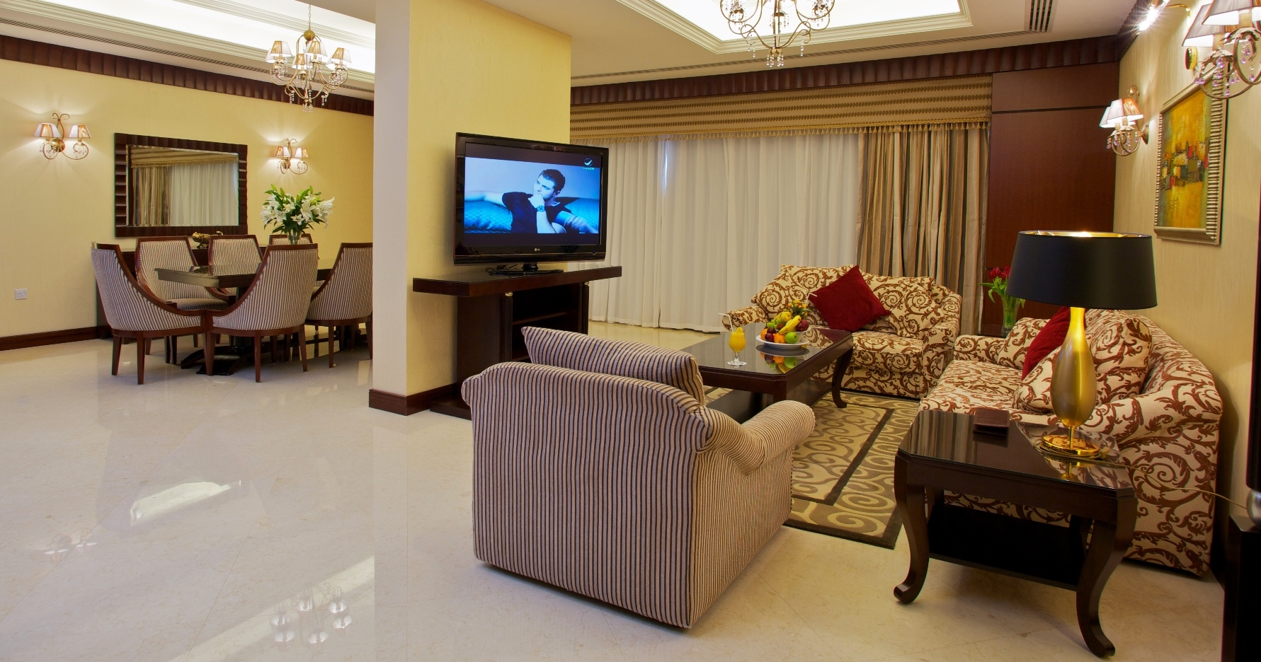 Royal Suite Living & Dining Area